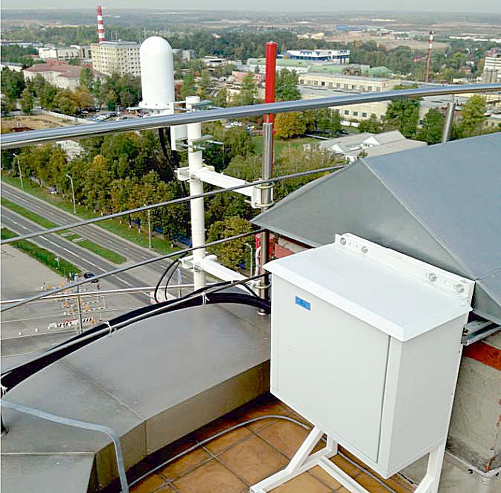 Аэродромная многопозиционная система наблюдения «Тетра»