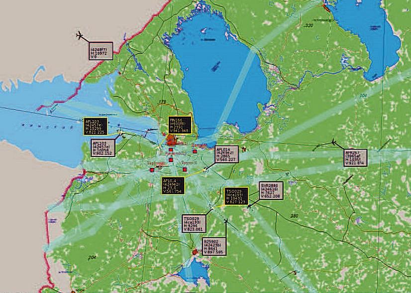 Многопозиционная система наблюдения МПСН «ТЕТРА-М»
