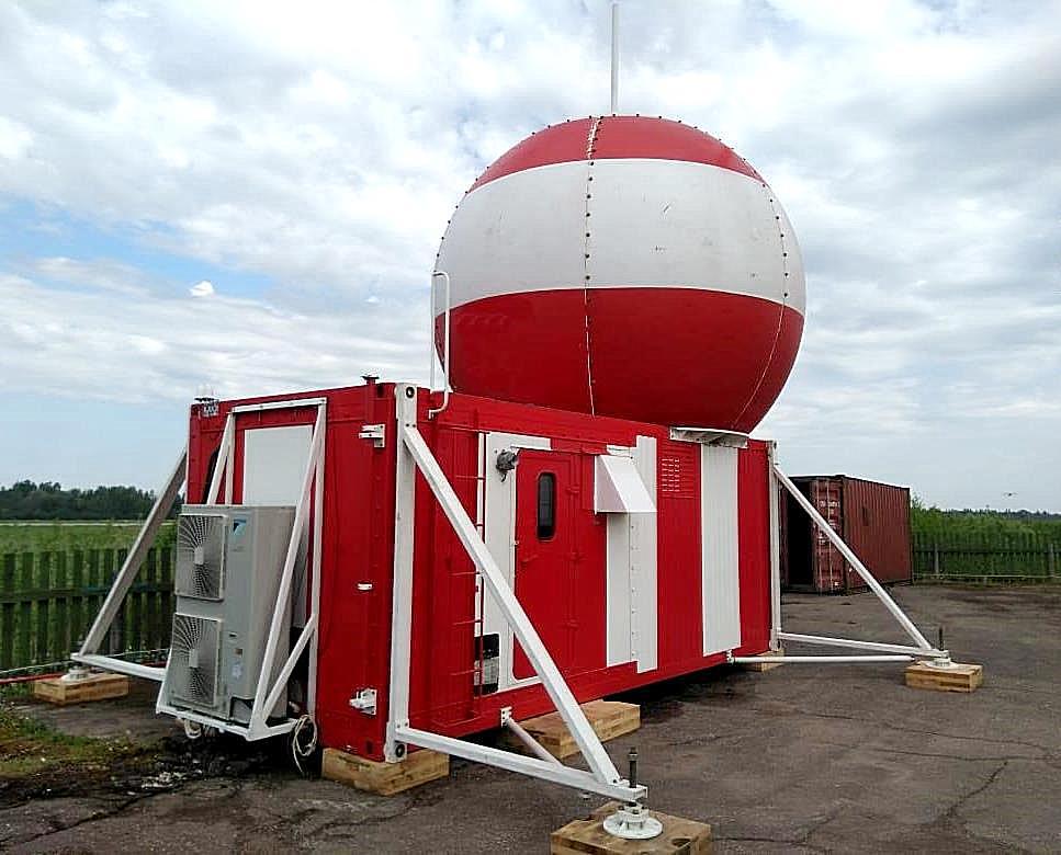 Аэродромный радиолокационный комплекс «РЛК-10РА»